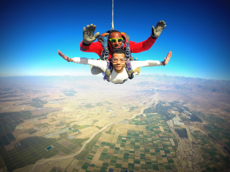 SKYDIVING Experience