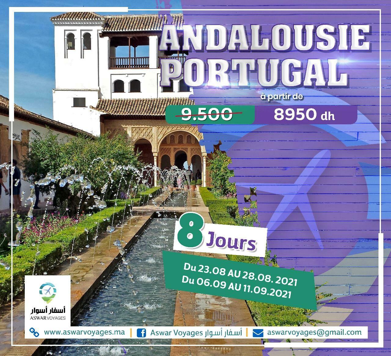 Andalousie & Portugal