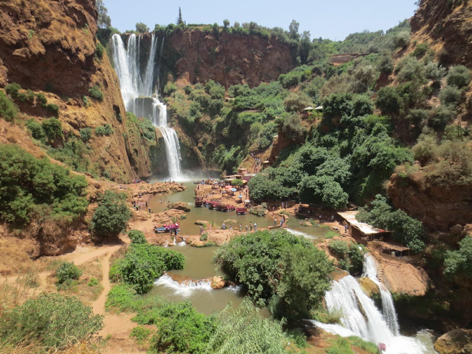 Bin el Ouidane - Ouzoud - Terres d'Amanar - Marrakech